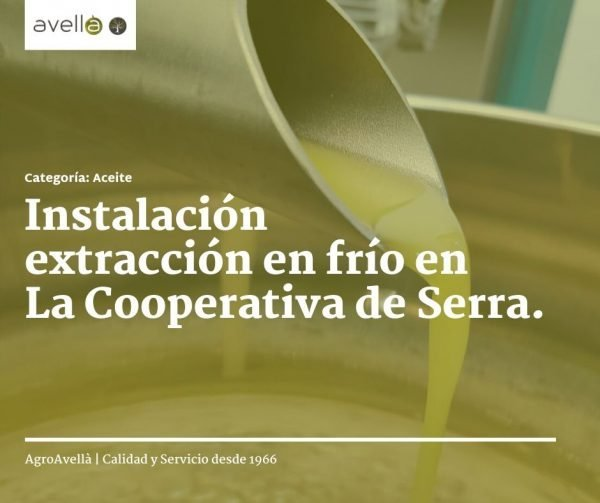 extraccion en frio de aceite