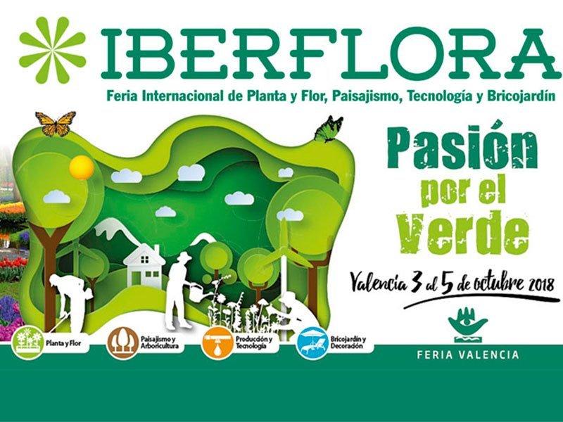 iberflora 2018 feria valencia
